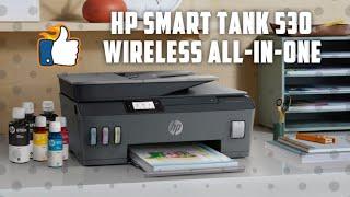 Compare Hp Smart Tank 530 Aio Printer Multi Function Wireless Color Printer Black Price In India Comparenow