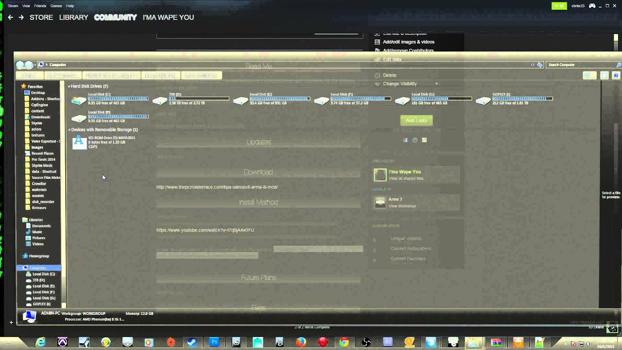 How to install Arma III pbo file