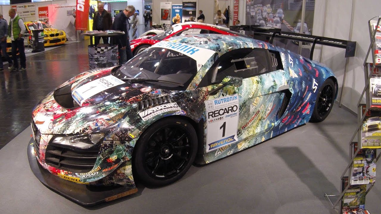 Audi R8 42 Racing Car Walkaround Crazy Wrap Youtube