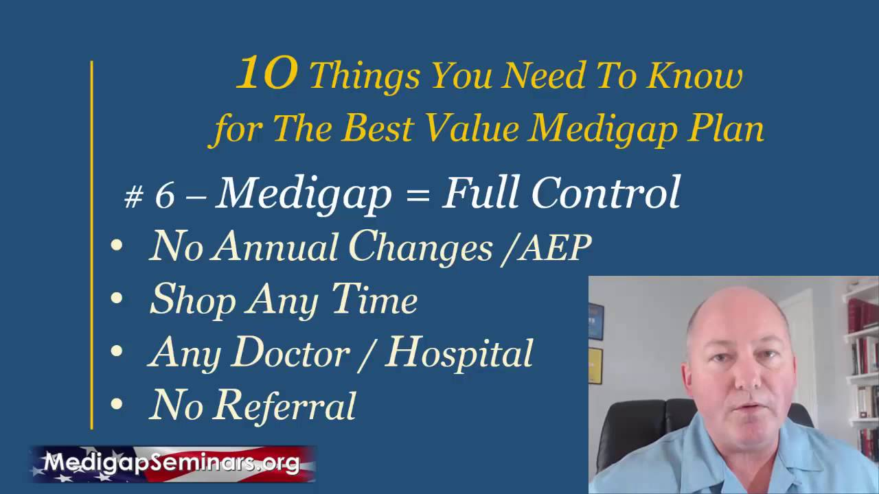 medicare 10-things you need to know  to find the best medigap plan