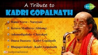 A tribute to Dr. Kadri Gopalnath | Carnatic Classical Audio Jukebox | Kadri Gopalnath Saxophone