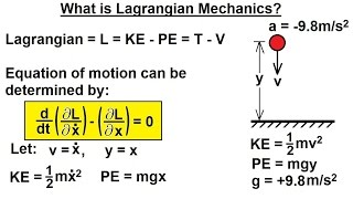 Physics - Adv. Mechanics: Lagrangian Mech. (1 of 25) What is Lagrangian Mechanics?