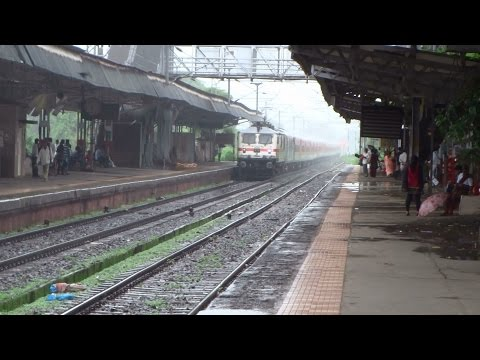 One Awesome Rainy Day : [15 in 1] High Speed Trains Coverage of Indian Railways : [All in One]