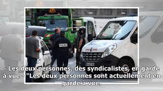 Paris: deux éboueurs arrêtés pour une action anti-Macron
