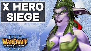 Warcraft 3 - X Hero Siege