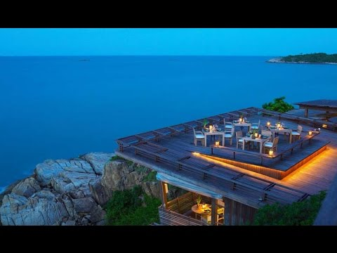Dining on The Rocks Koh Samui