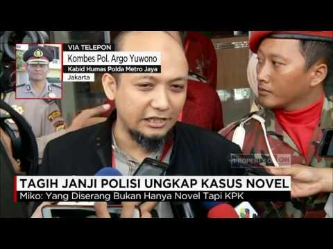 Tagih Janji Polisi Ungkap Kasus Novel