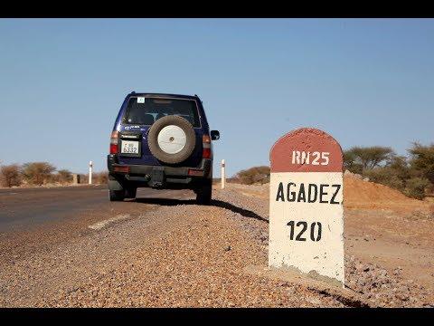 Route Niamey Agadez