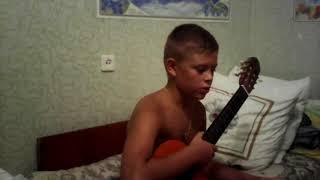 Мелодия 'Румба' на гитаре