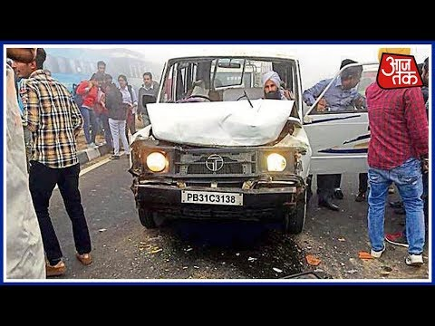 100 Shehar 100 Khabar | Smog Leads to Accident at Bathinda Highway, 8 Students Dead