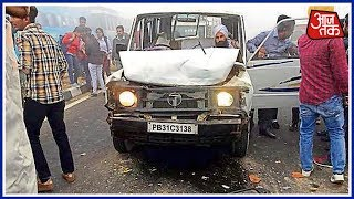 100 shehar khabar | smog leads to accident at bathinda highway, 8 students dead