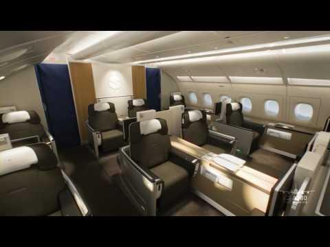 Lufthansa A380 Cabin YouTube