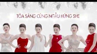 Смотреть клип Pnjsilver Ft. Tóc Tiên - Santa Baby