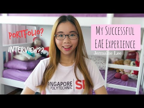 ♥︎ My Successful EAE Experience into Singapore Poly ♥︎ | JERMAINE LEE