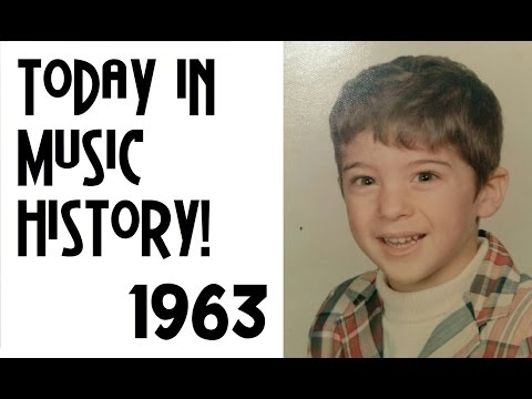 Today in Music History - 1963