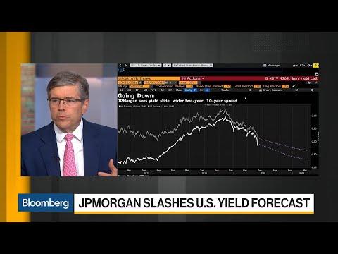 JPMorgan Slashes U.S. Yield Forecast on Trade Concerns