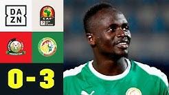 Teranga-Löwen im Achtelfinale! Sadio Mane trifft doppelt: Kenia - Senegal 0:3 | Afrika Cup | DAZN