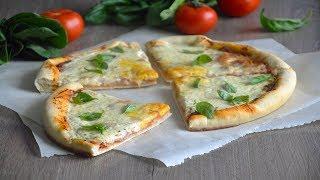 Пицца Карбонара с беконом рецепт