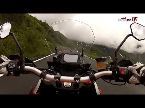 KTM 1190 Adventure-Sozius Speedride auf Grossglockner