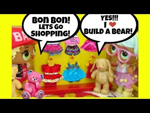 LOL Surprise Dolls Shop at BUILD A BEAR ♥ Big Sisters Baby Doll Story ♥ Blind Bag Balls Color Change