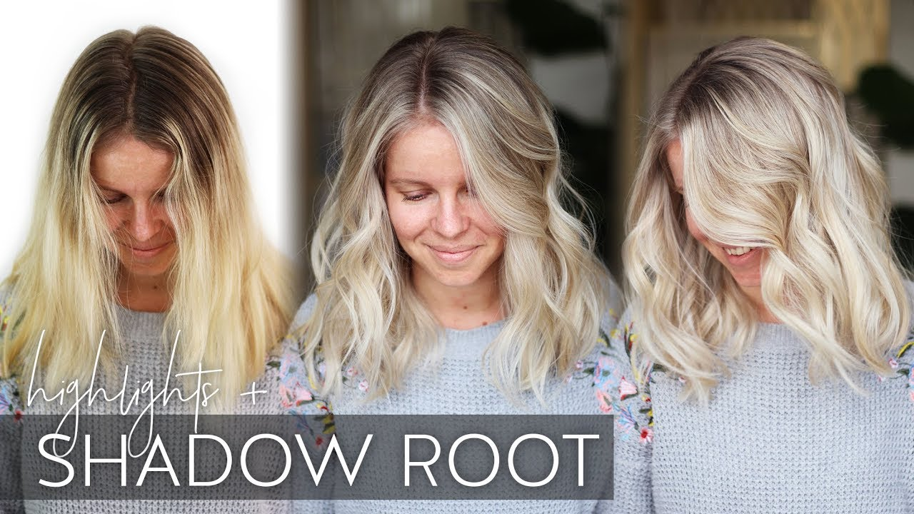 Babylight Tutorial With A Shadow Root On Blonde Hair Easy Technique Youtube