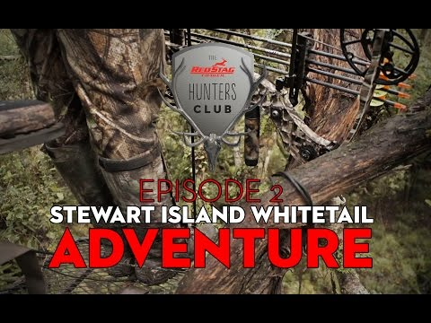 Red Stag Timber Hunters Club - EP 2 Stewart Island Whitetail Hunt Snippet