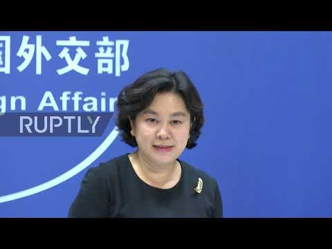 China: Beijing calls for greater transparency on US bioweapon activities