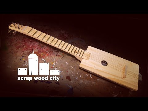 making-a-4-string-acoustic-guitar-out-of-scrap-wood-and-metal