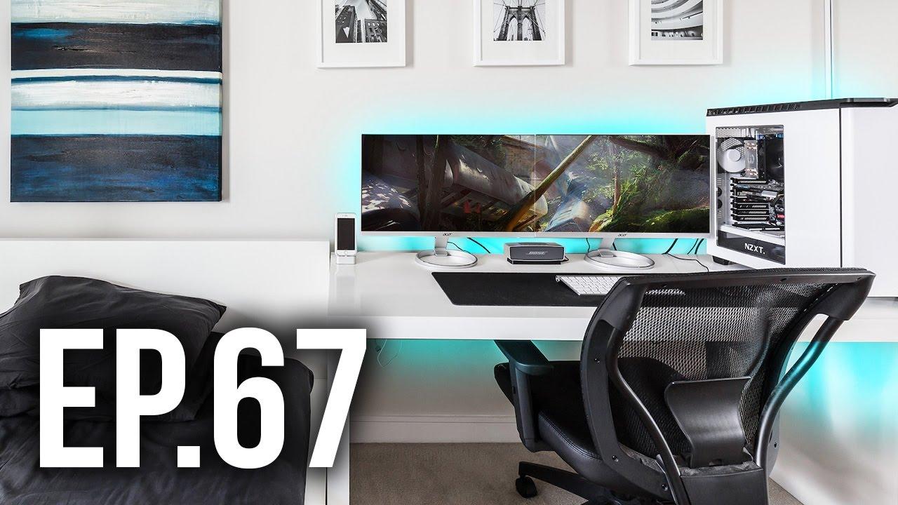 room tour project 67 best gaming setups custom pc 39 s youtube. Black Bedroom Furniture Sets. Home Design Ideas