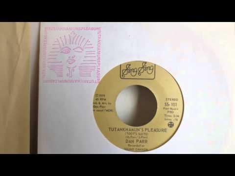 King Tut Song  -  Dan Parr (1979) - Vinyl Single