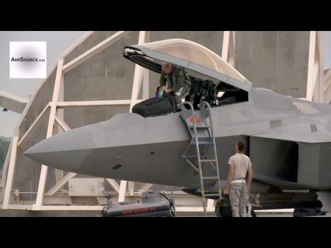 F-22 Raptors at Kadena Air Base, Okinawa, Japan (2013)