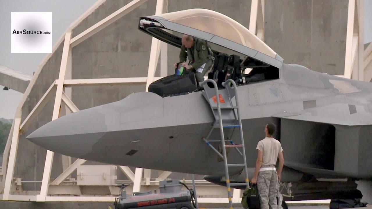 F-22 Raptors at Kadena Air Base, Okinawa, Japan (2013)