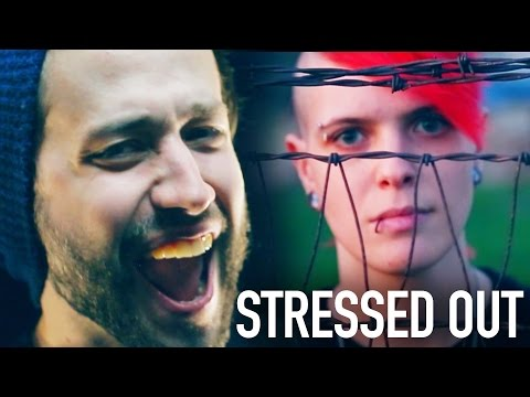Stressed Out (Twenty One Pilots) Punk goes Pop style METAL COVERJonathan Young & KtheScreamer