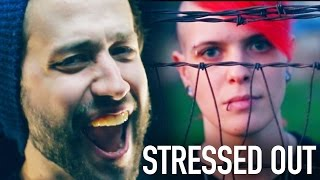 Stressed Out (Twenty One Pilots) Punk goes Pop style METAL COVER Jonathan Young & Kt ...