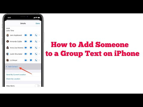 How To Add Someone To A Group Text On Iphone After Ios 13 Youtube