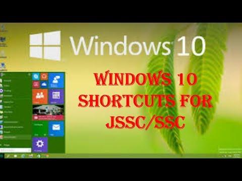 Repeat Computer CL-2(Window 10 Shortcuts Key) for JSSC/SSC