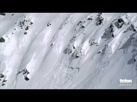 Skier Caught In An Avalanche