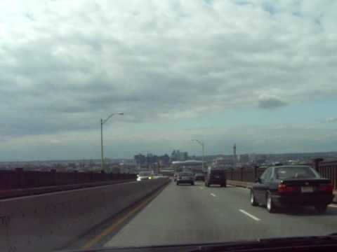 Pulaski Skyway (US 1 / 9) over Newark Bay in New Jersey