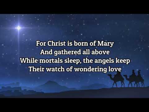 O Little Town of Bethlehem (lyrics)