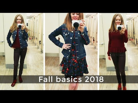 Fall Style Guide 2018 for women over 40 - fall basics