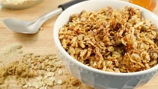 How To Make Granola - Recipe For Homemade Old Fashioned Granola | Radacutlery.com