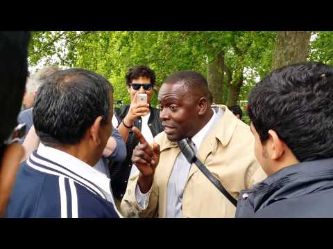 Muslims Attacked Man of God - Speakers Corner Hyde Park Lond