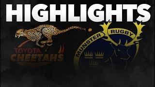 Guinness PRO14 Round 3: Toyota Cheetahs v Munster Rugby Highlights