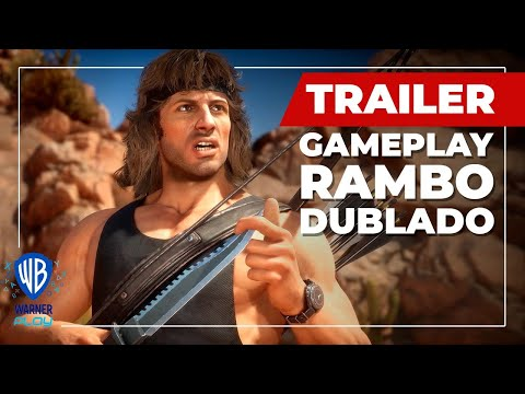 Mortal Kombat 11 Ultimate | Trailer de Gameplay do Rambo - Dublado