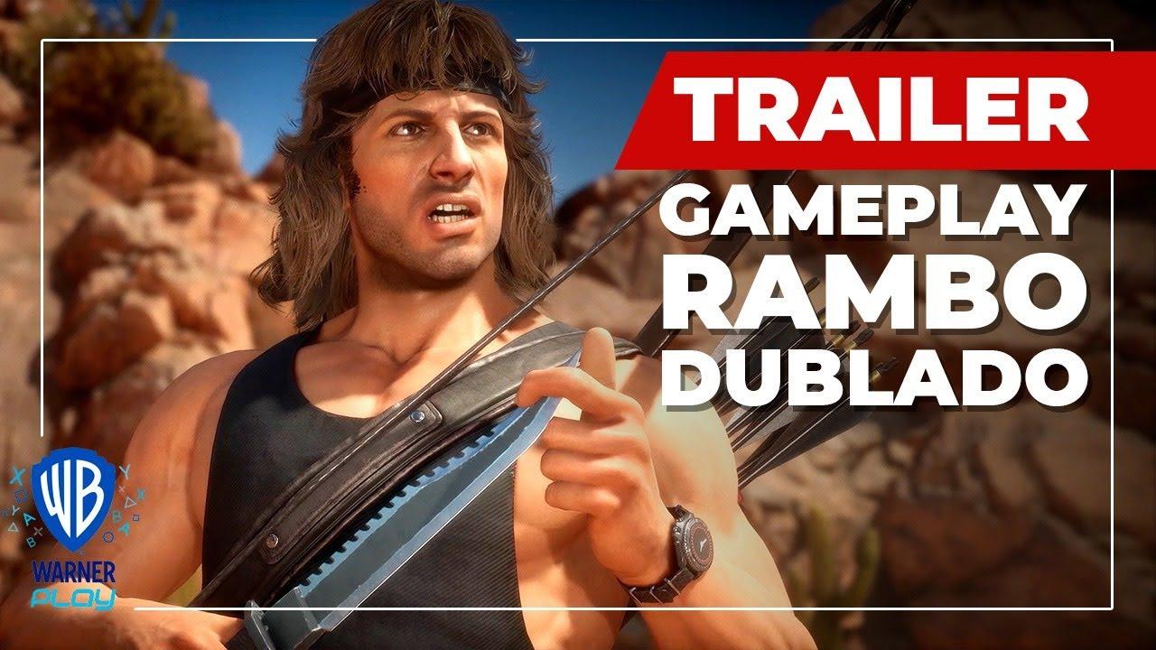 Mortal Kombat 11 Ultimate | Trailer de Gameplay do Rambo - Dublado
