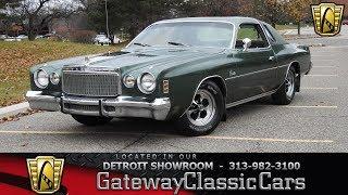 1977 Chrysler Cordoba Stock #1355-DET