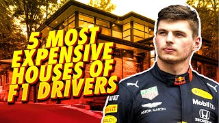 TOP 5 Most EXPENSIVE Houses of F1 DRIVERS!