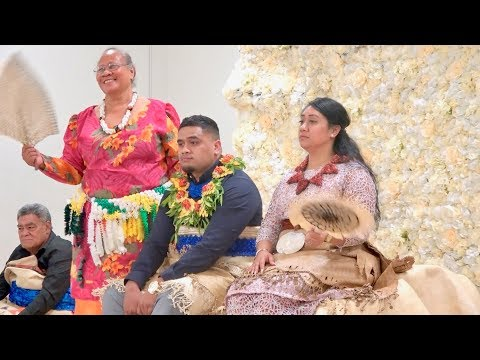 Po Fakalelea Mali - Lorrainne Eukaliti & Tu'uholoaki Tu'ipulotu - Tongan Betrothal Celebration