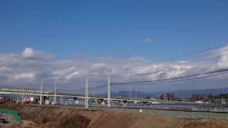 JR東日本 キヤE195系  甲種輸送③  豊川放水路通過