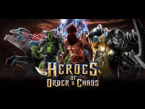 Heroes Of Order & Chaos Gameplay Review - Android IOS